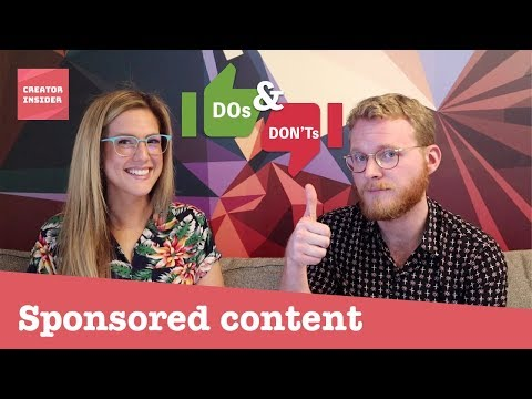 Dos & Donts: Monetization Policies for Paid Product Placements and Endorsements (aka. brand deals)