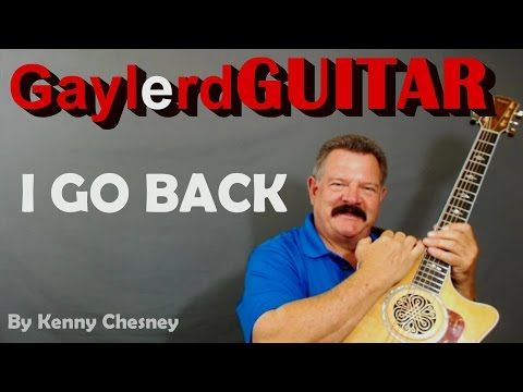 I GO BACK Kenny Chesney - GUITAR LESSON