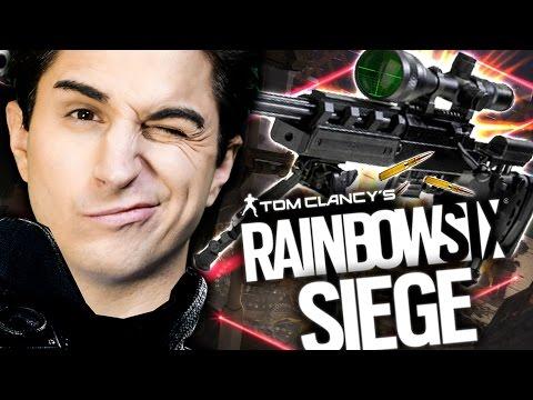 LE PARTITE PIU' TROLL MAI FATTE!! DEVASTO CON IL CECCHINO! Rainbow Six Siege