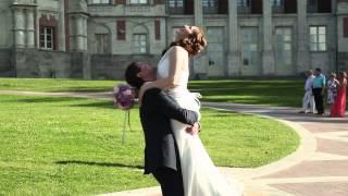 Свадьба в Царицыно с квадрокоптера