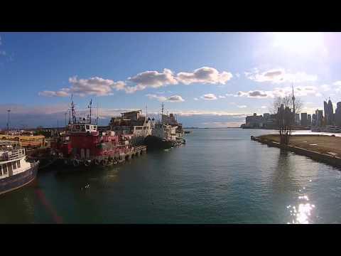 Toronto waterfront - DJI drone video