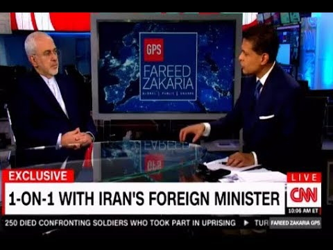Fareeh Zakaria interviews Iran's Foreign Minister Mohammad J