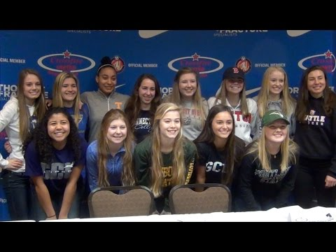 2016 Crossfire United ECNL National Signing Day