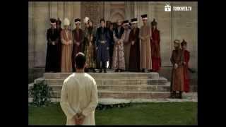 Muhteşem Yüzyıl - şehzade mustafa malkoçoğlu'nu bağışlıyor