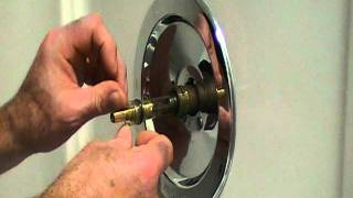 How Repair Leaky Single Lever Moen Bath Or Shower Faucet Older Style