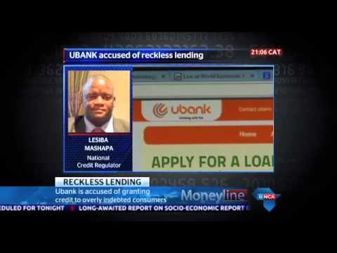 Ubank in trouble for alleged reckless lending