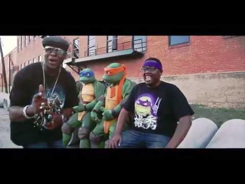 """""""Rock The Halfshell""""  Teenage Mutant Ninja Turtles! TMNT - OFFICIAL VIDEO by Partners In Kryme ©2015"""