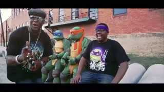 """Rock The Halfshell"" NEW TMNT Song!! OFFICIAL VIDEO by Partners In Kryme ©2015"
