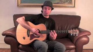 Beginner Blues Guitar Lesson - What is the I IV V Blues Chord Progression?
