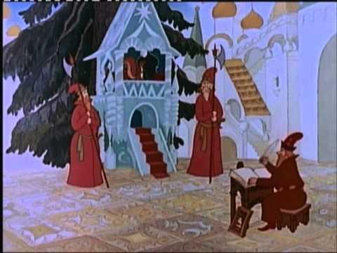 Le prince et le cygne dessin anim conte russe en fran ais des ann es 90 youtube - Dessin anime les pingouins ...