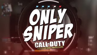 ONLY SNIPER - EP:1 [COD AW]