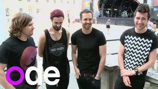 Bastille interview: Your Twitter questions, plus we measure Dan
