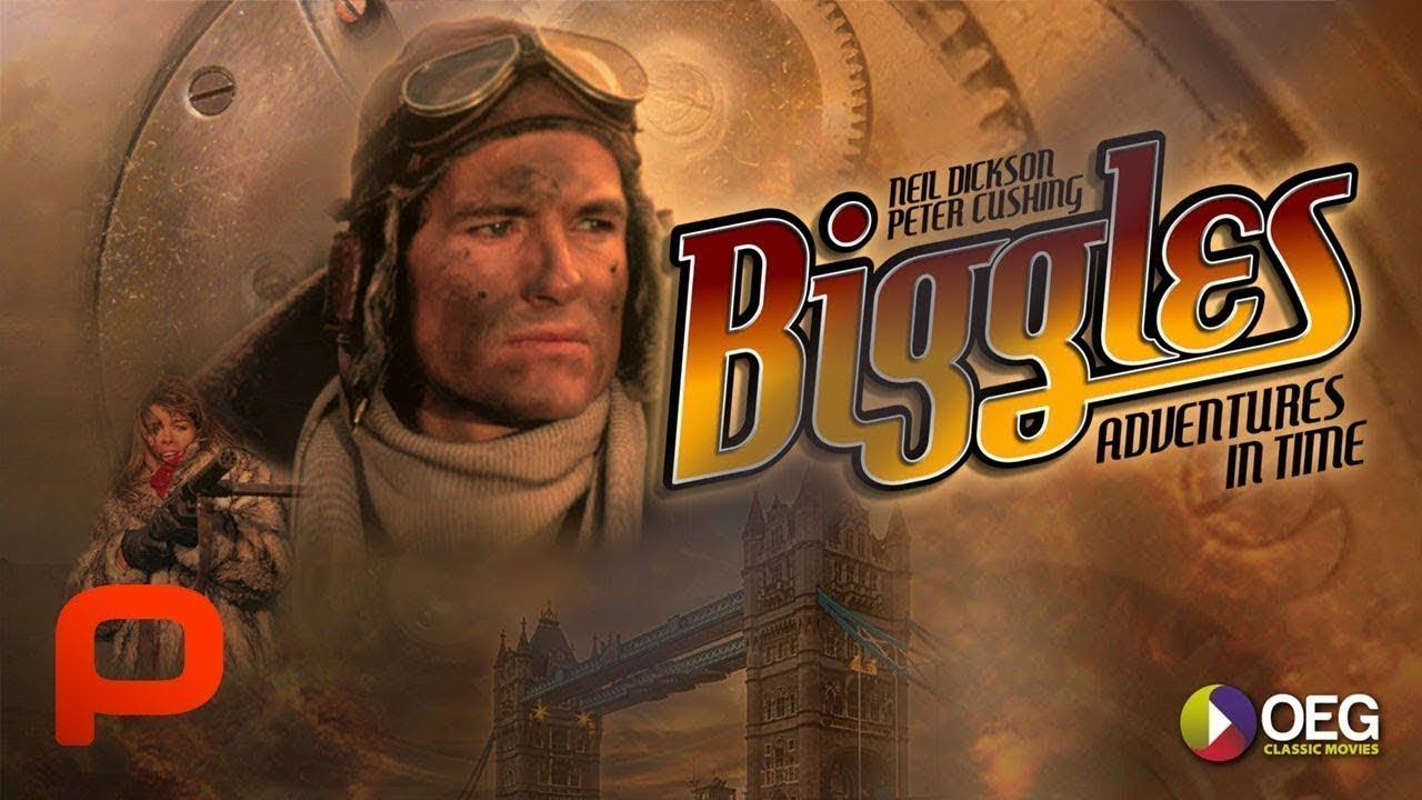 Biggles: Adventures In Time (Full Movie) Family Adventure Sci-Fi.  Time travel