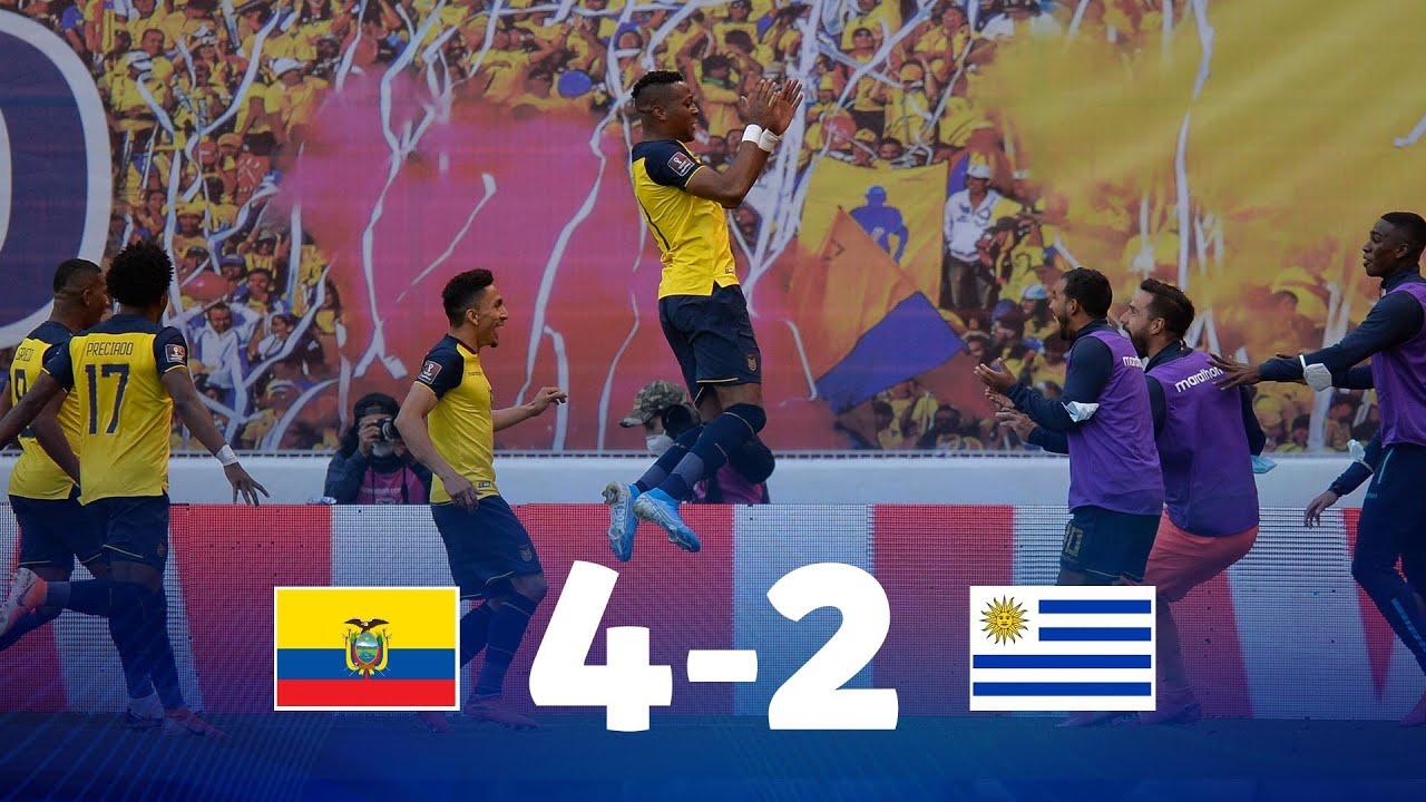 Eliminatorias | Ecuador vs Uruguay | Fecha 2