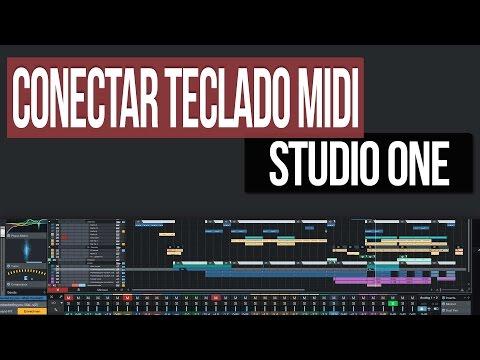 Como conectar teclado MIDI | Presonus Studio One 3 from YouTube · Duration:  4 minutes 5 seconds