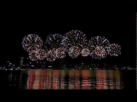 Australia Day Skyworks 2013@Perth