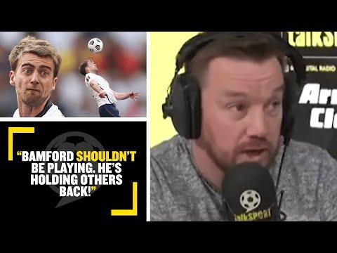 """BAMFORD SHOULDN'T BE PLAYING!""🤬 Jamie O'Hara & Ally McCoist have heated debate over Patrick Bamford"