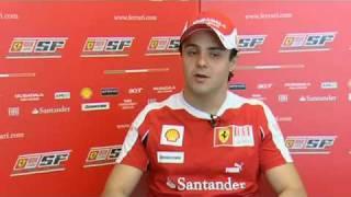 Intervista ad Alonso, Massa ed Aldo Costa