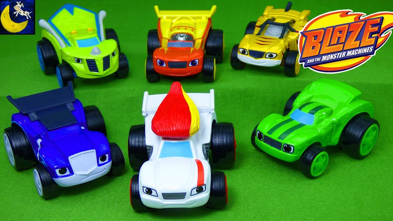 Blaze And The Monster Machines Race Car Starla