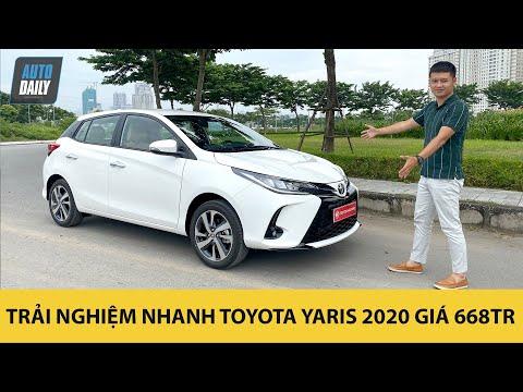 Trải nghiệm nhanh Toyota Yaris 2020 giá 668 triệu đồng vừa về đại lý |Autodaily.vn|