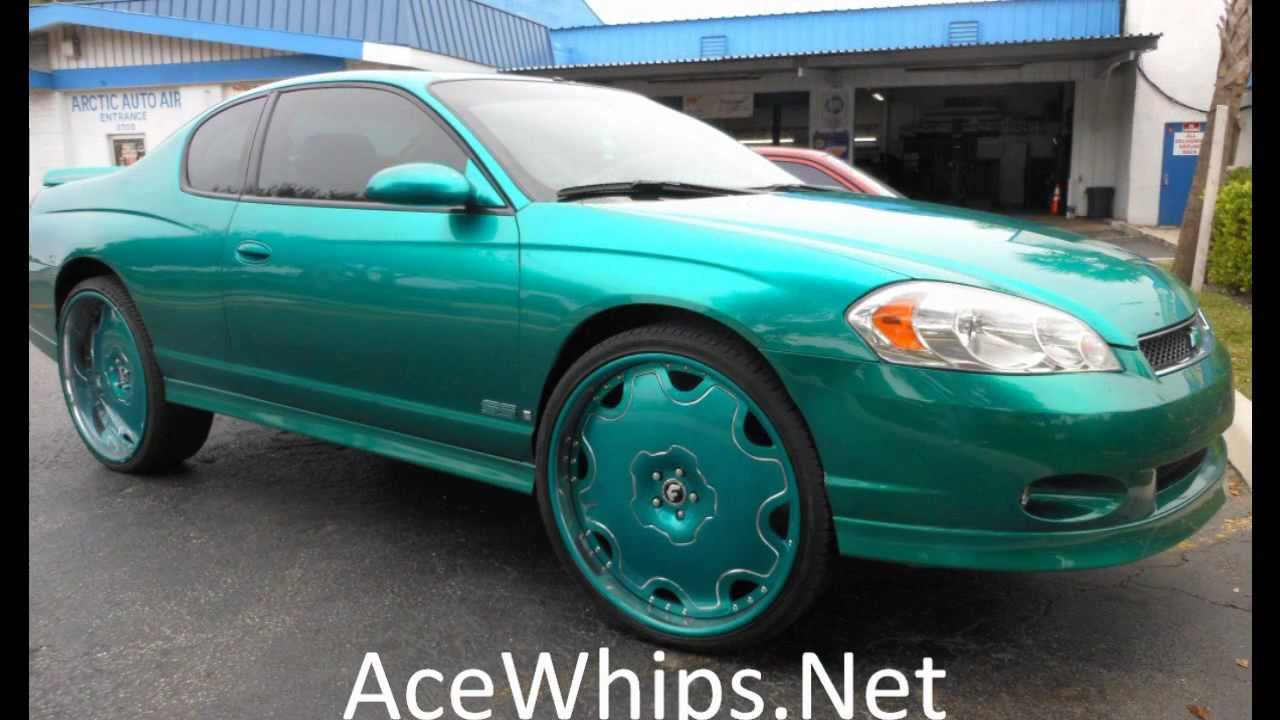 "Arctic Customs- Chevy Monte Carlo SS on 26"" Fiore ..."