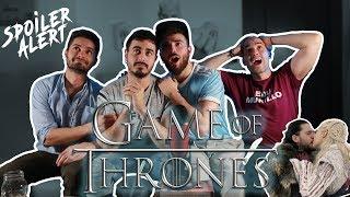 REACCIÓN 8x01 JUEGO DE TRONOS (Game of Thrones) con Ailo Sawyer y Edu Sanz Murillo- REACTION GOT