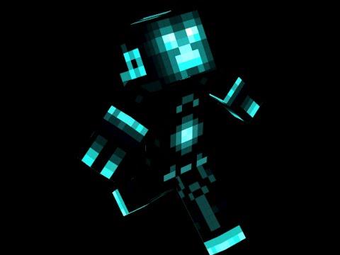 New Tron Creeper Skin By SHY YouTube - Skin para minecraft pe creeper