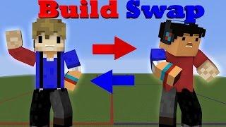 BUILD SWAP! Minecraft Minigame /w Taurtis