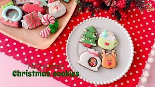 Mini Christmas cookie ◇ クリスマスアイシングクッキー<トナカイセッ...