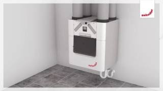 Zehnder comfortable indoor ventilation: Installation Zehnder ComfoAir Q