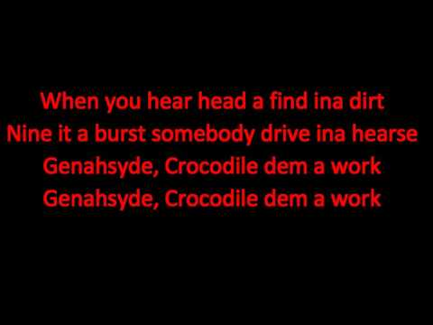Crocodile Dem a Work - Masicka (Kalado Diss) LYRICS  November 2015