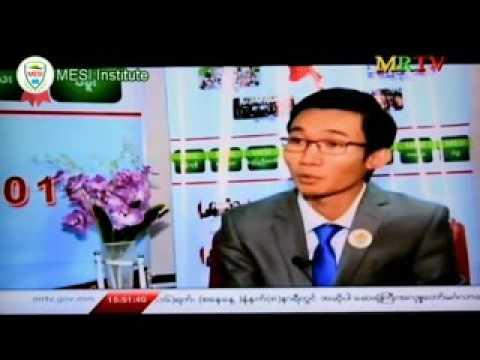 MRTV Interview with U Zin Phyo Paing ( Myanmar Entrepreneur SME Institute - MESI)