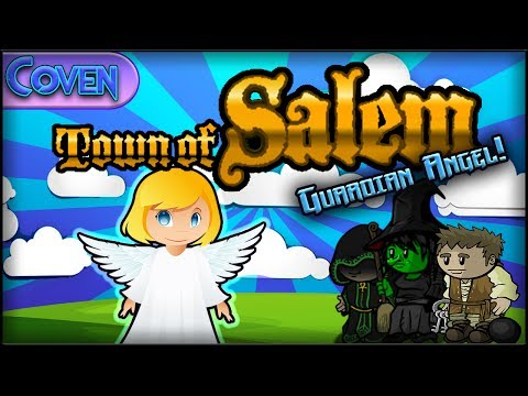 Town of Salem: The Coven (Guardian Angel Game) | WINGING IT! (Custom)