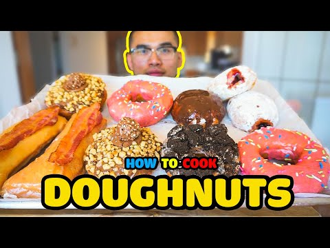 How to cook DOUGHNUTS