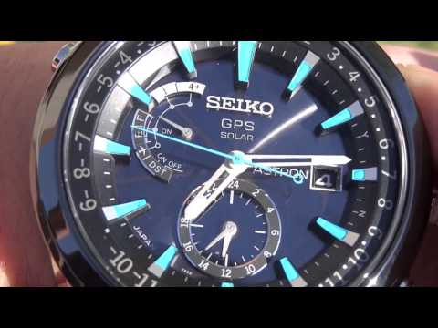 Seiko Astron GPS Solar SAST009 watch review