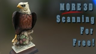 MORE 3D Scanning For Free!