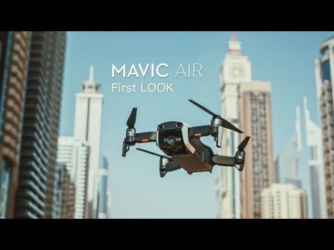 DJI Mavic AIR - FIRST LOOK in DUBAI