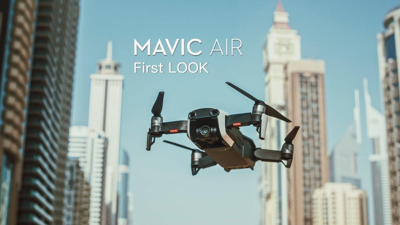 8148a2b486b DJI Mavic AIR - FIRST LOOK in DUBAI - YouTube