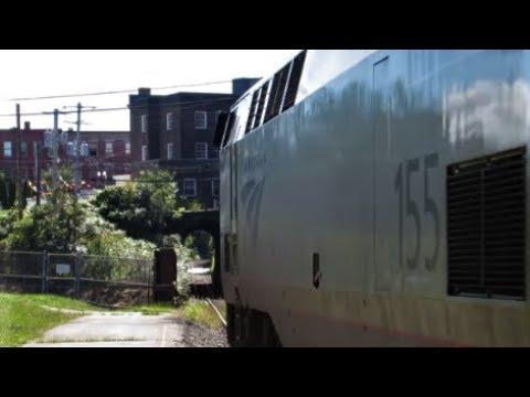 """""""Amtrak's Vermonter"""" Bellows Falls, VT"""