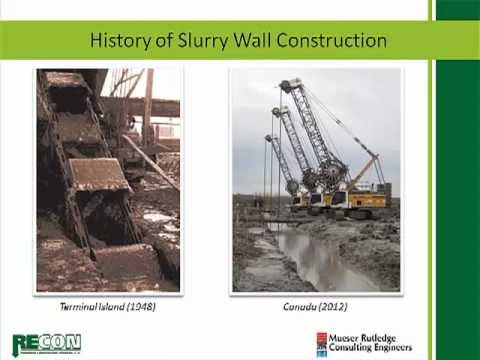 Slurry Wall - Hydraulic Barrier Application