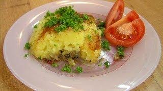 Картофельно-грибная запеканка - видео рецепт(Видео рецепт приготовления постной запеканки из картофеля и грибов в посуде Цептер (Zepter). Подписка на новые..., 2011-04-21T17:20:54.000Z)