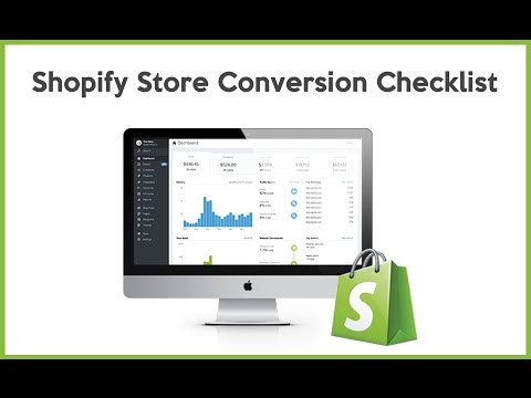 Shopify Store Conversion Checklist
