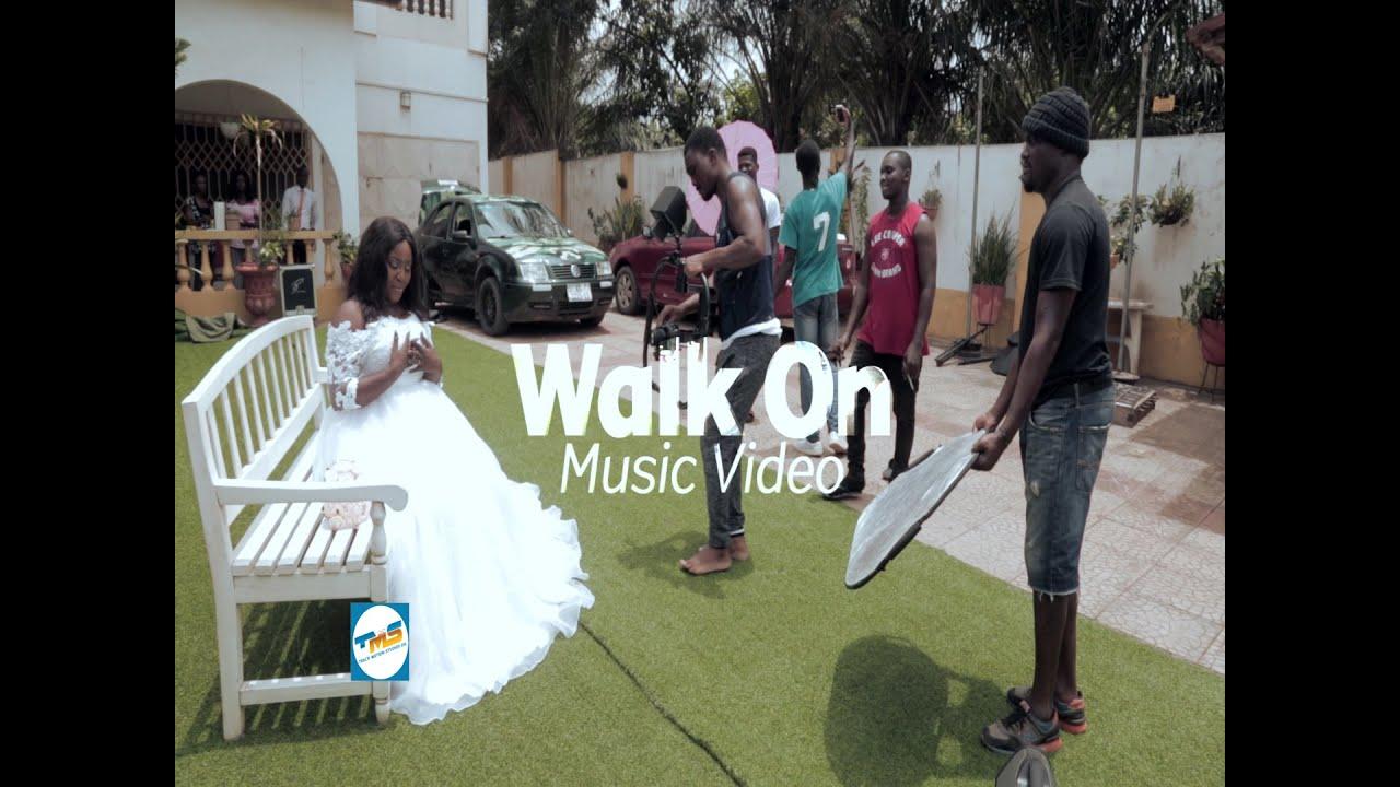 Walk On Music Video (Behind The Scenes) Back Focus