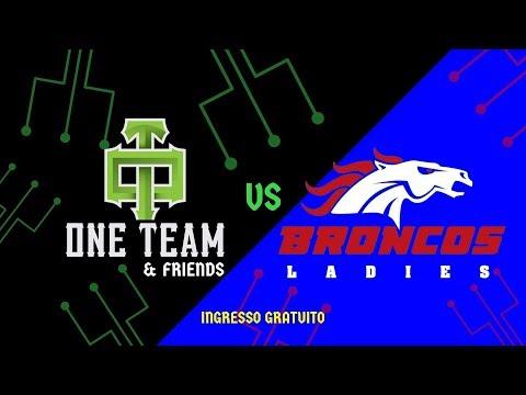 One Team Milano vs Calanda Broncos Ladies