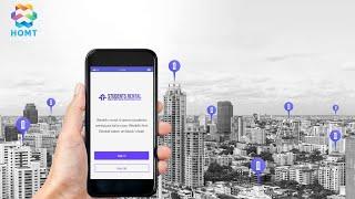 HOMT - платформа на основе технологии блокчейн и AI для рынка студенческого жилья.