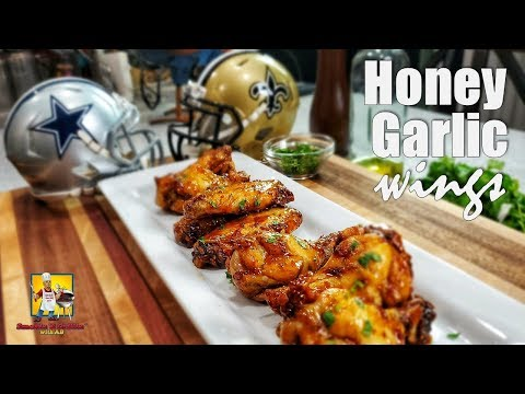 Honey Garlic Chicken Wings | Finger Food | Appetizers