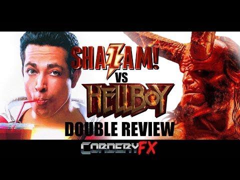 SHAZAM! vs HELLBOY: TRASH and TREASURE