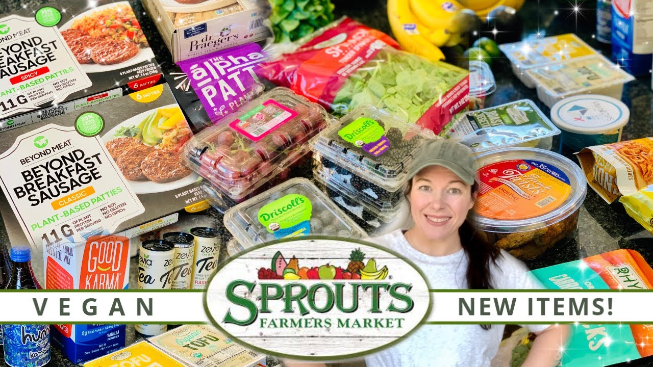 Sprouts Farmers Market Haul! | NEW ITEMS! | Vegan & Prices shown! | July 2020