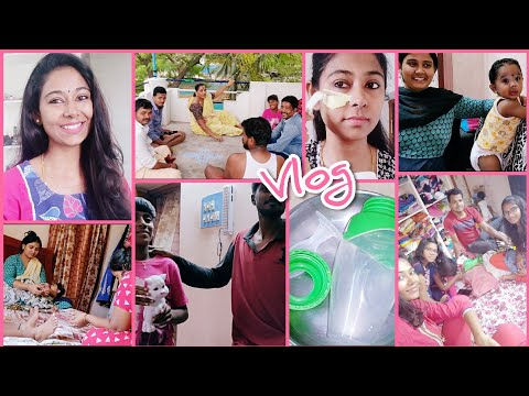 #Vlog | Why I'm Calling Sudarsan As Babba? | Summer Ubtan Combo | Bittu Feeding Bottle Details
