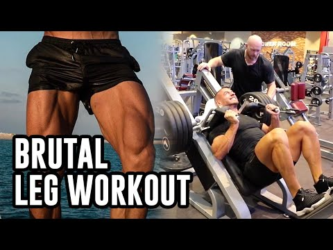 Mike Thurston Trains Legs With BEN PAKULSKI
